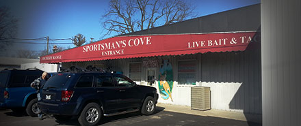 Sportsman's Cove store front